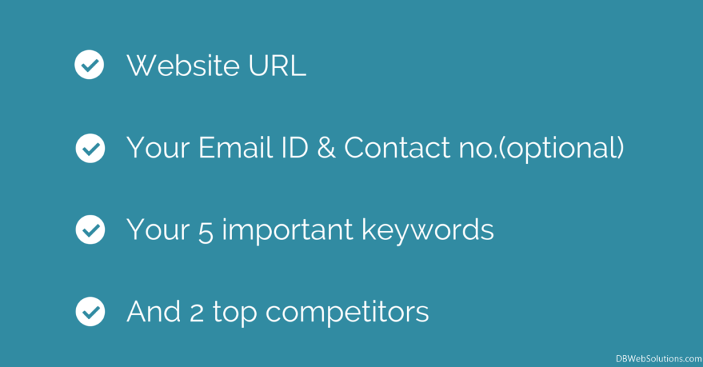 Website URLYour Email ID & Contact