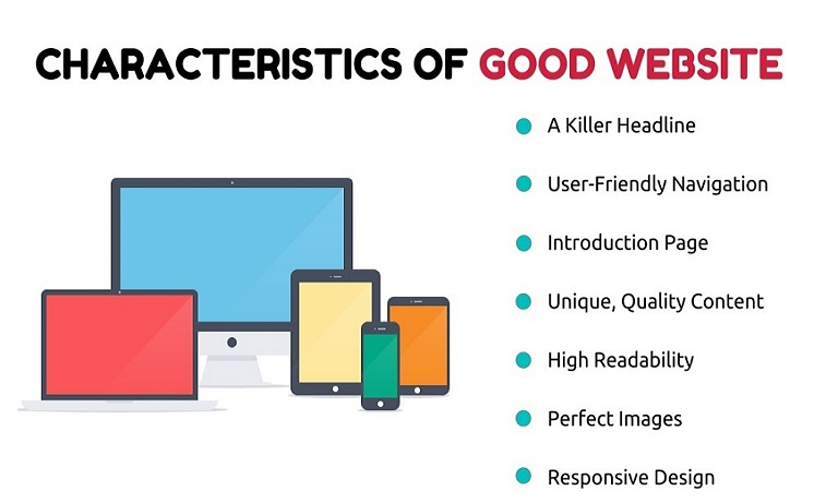 Professionally Designed or Developed Websites are like Good Book