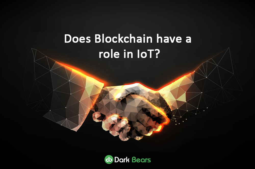 Does Blockchain have a role in IoT