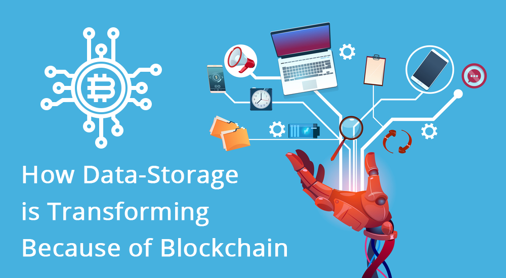 How Data-Storage is Transforming Because of Blockchain