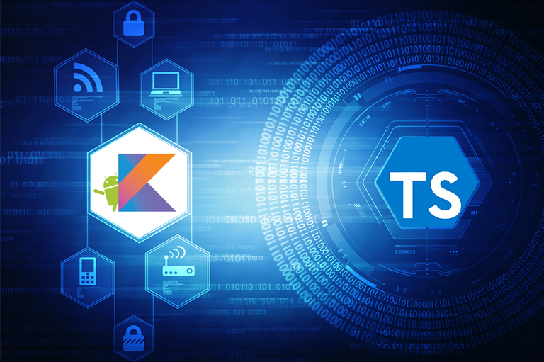 TypeScript and Kotlin