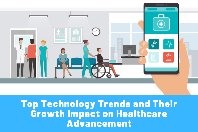Top Technology Trends and Their Growth Impact on Healthcare Advancement